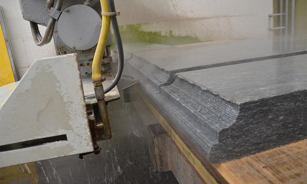 lavorazione marmo canale