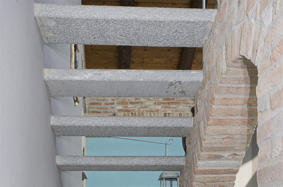 scala in pietra luserna