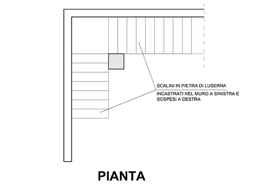 scala in pietra