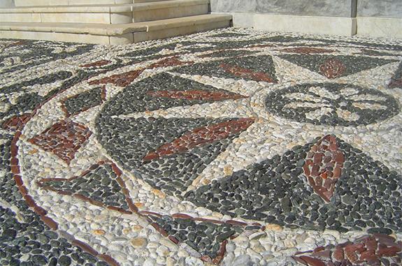 vigo mosaici rosone