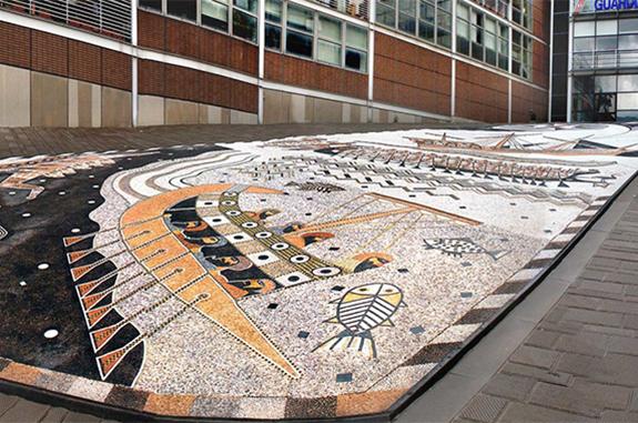 vigo mosaici pavimentazione acciottolato