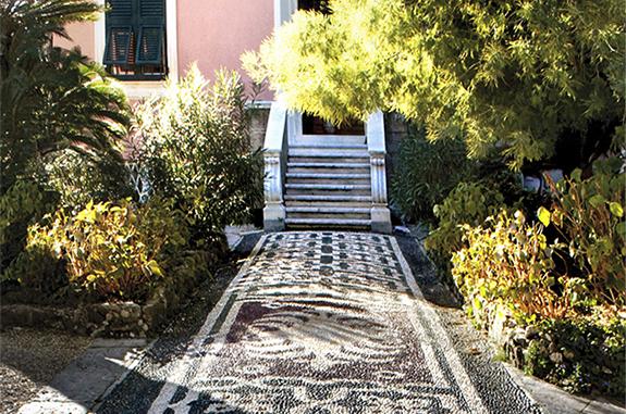 pavimenti in pietra per esterni acciottolato