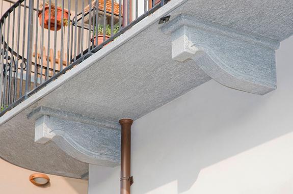 balcone pietra luserna