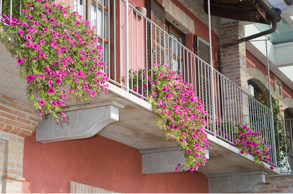 balconi modiglioni in pietra luserna