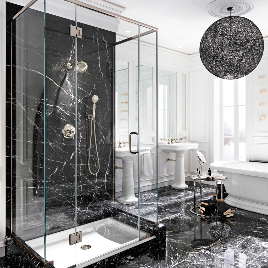 Bagni Di Lusso Moderni bagni in marmo e bagni in pietra di lusso: soluzioni di