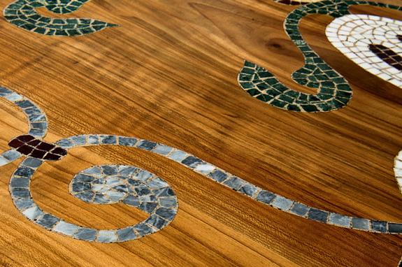pavimentazione a mosaico