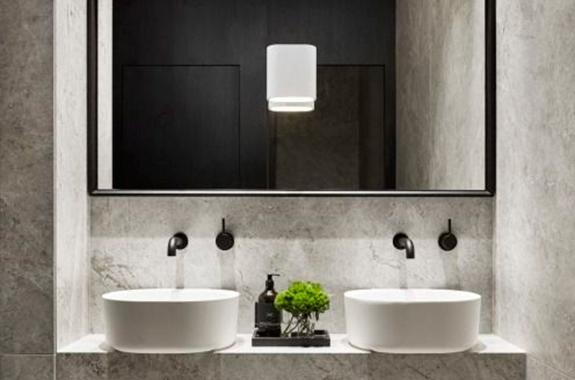 bagni in marmo lavabo in taj mahal