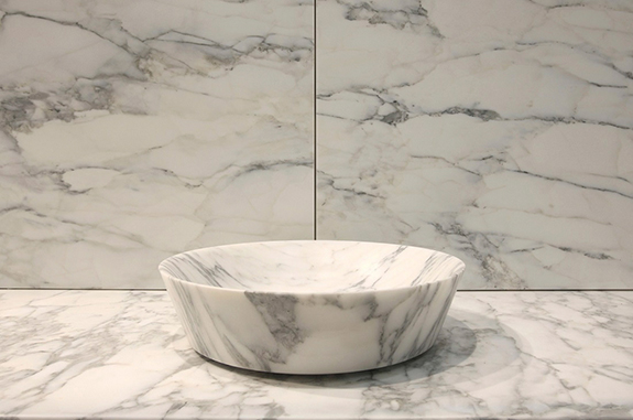 bagni in marmo lavabo in marmo