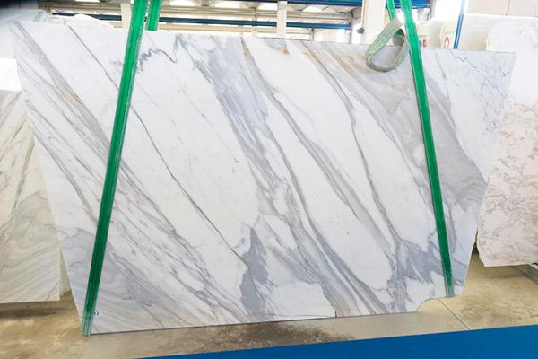 lastra marmo bianco carrara lucido