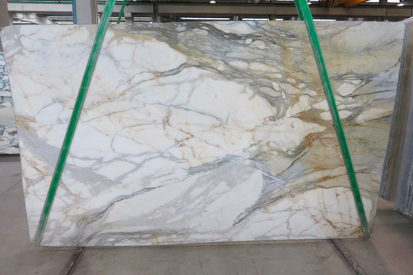 lastra marmo calacatta mezza macchia