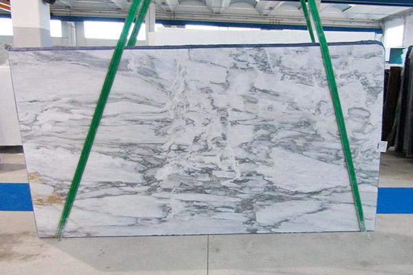 lastra marmo calacatta retro'