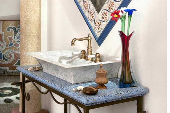 mobili mosaici