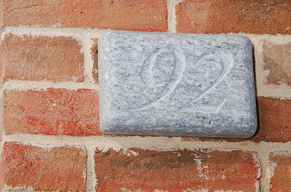 numero civico pietra