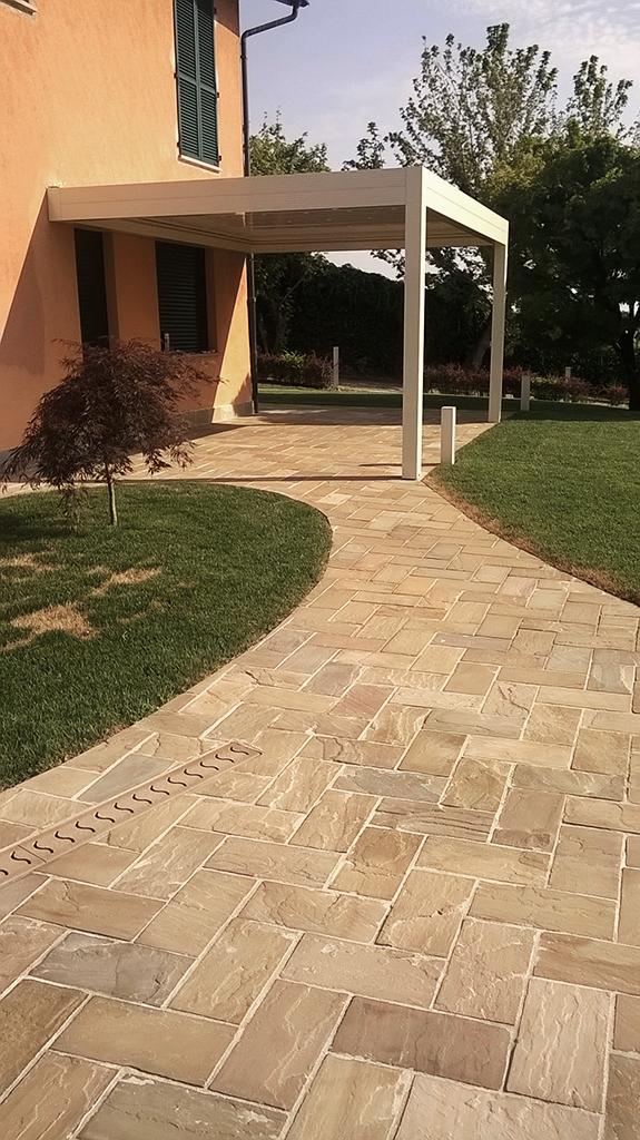 pavimenti per esterni in pietra quarzite gaya