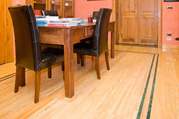 pavimenti interni sala marmo