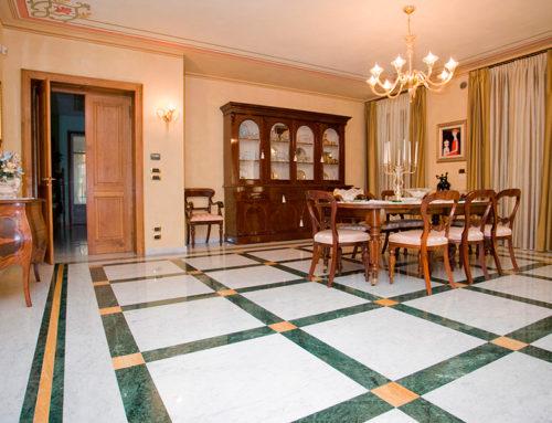 Pavimenti di lusso: perché (e come) realizzare ambienti interni prestigiosi