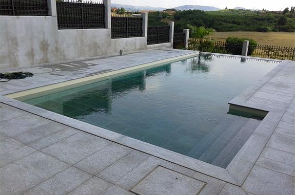 lastre in pietra di luserna per pavimentazione piscina