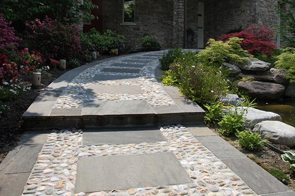 pavimento pietra di luserna quadrettoni