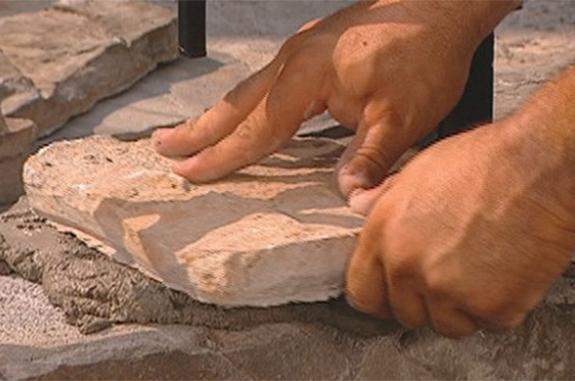 come posare la pietra di luserna