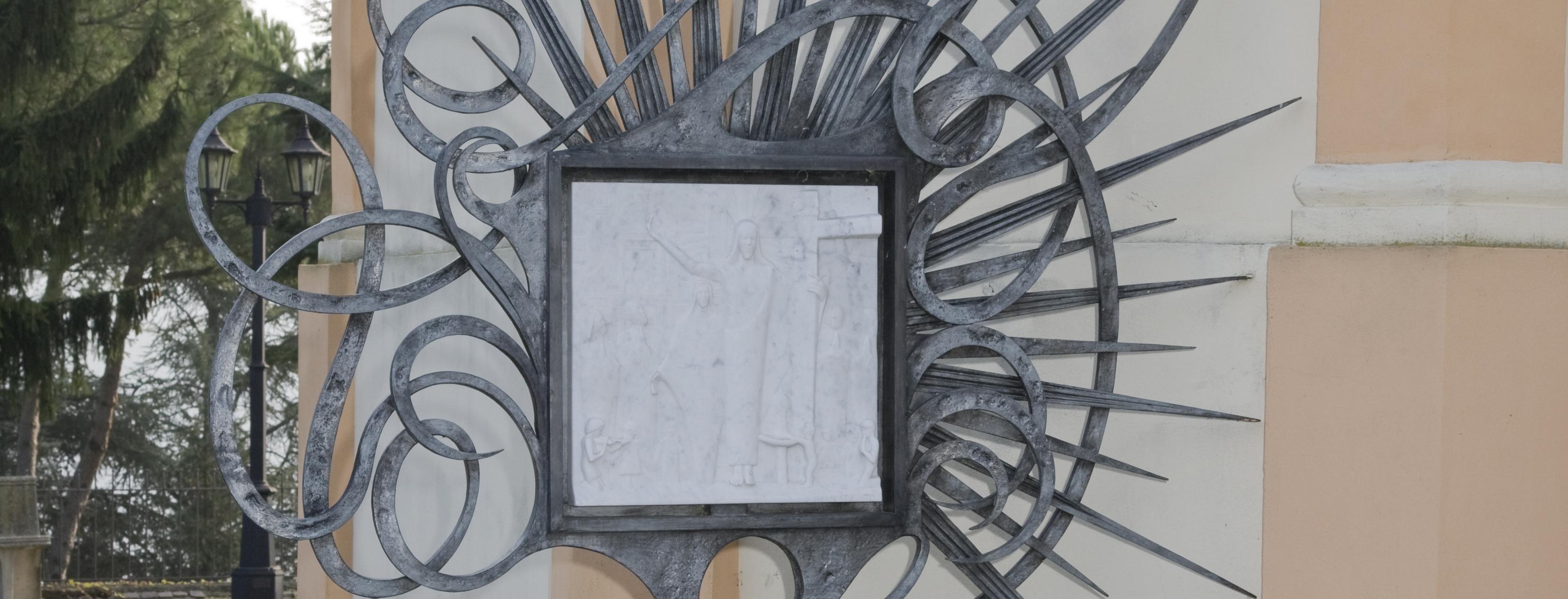 progetto stazioni via crucis in marmo