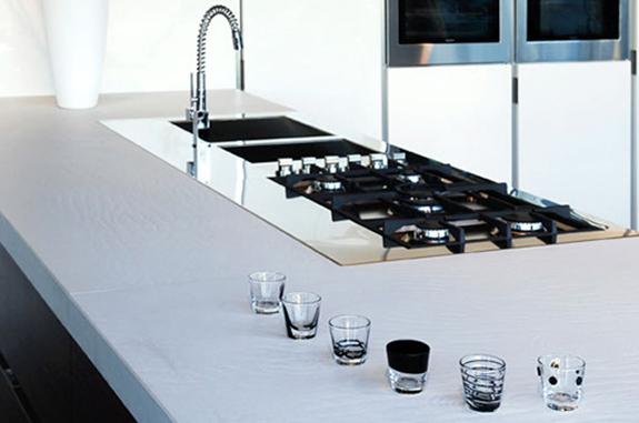 cucine in marmo top cucina bianca