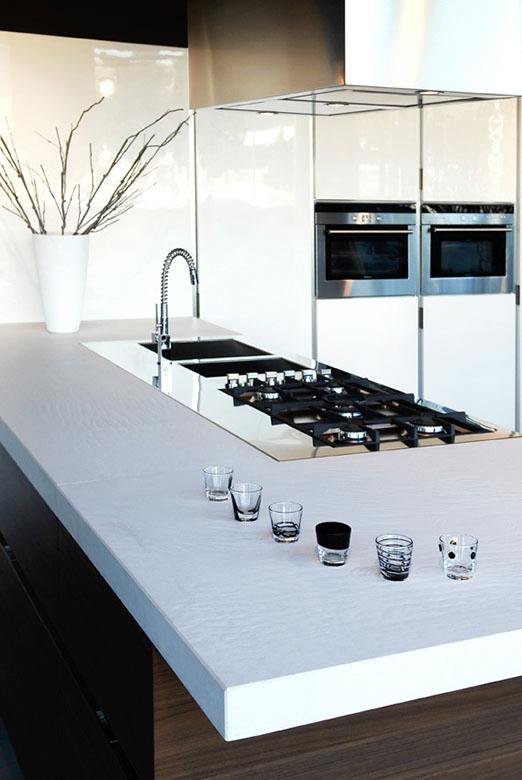 Cucine in marmo e materiali lapidei - Cucine di Design - Canalmarmi