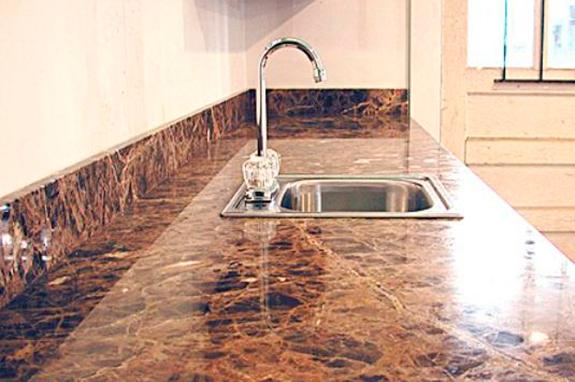 cucine in marmo top cucina lavello marmo