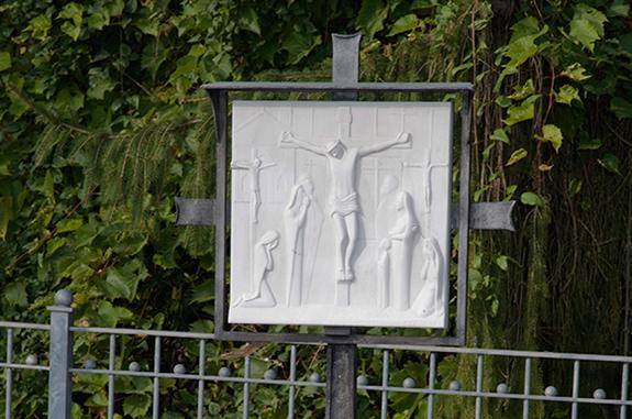 insegna stazione via crucis
