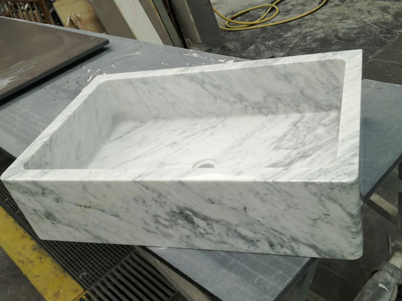 Top Cucina In Marmo Di Carrara.Piano E Top Cucina In Marmo Bianco Di Carrara Canalmarmi