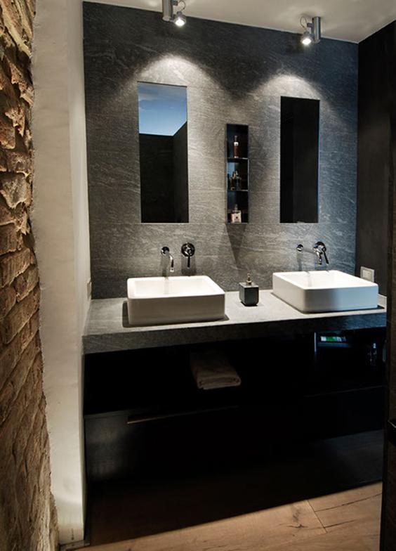 Bagni di lusso materiali e accessori per bagni moderni for Accessori bagno design moderno