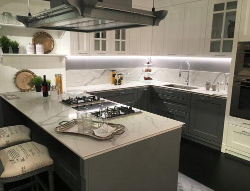 NUOVI Agglomerati di Quarzo: l'alternativa al marmo per i top cucina