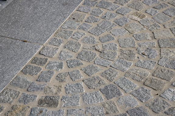 pavimento esterno pietra pavè