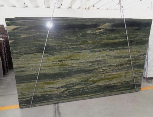 Quarzite Verde Bamboo: nuova lastra Canalmarmi