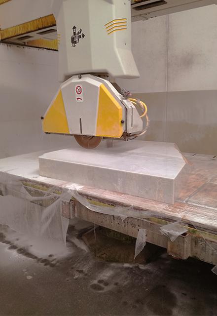 marmista taglio marmo