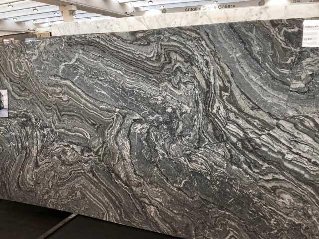 lastra marmo arabescato nero