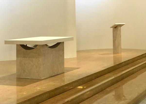 realizzazione altare restauro chiesa torino